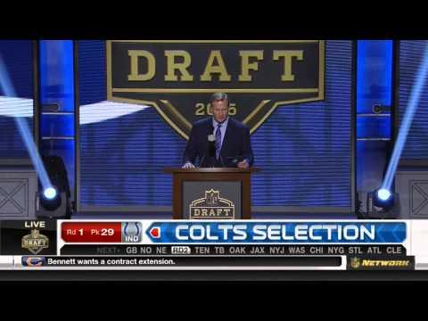 (HD) NFL 2015 Draft Selection - Colts Select Phillip Dorsett #28th