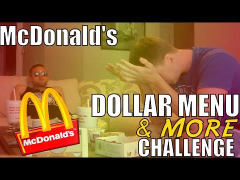 McDonald's Dollar Menu & More Challenge