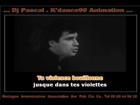 karaoké Claude Nougaro - Toulouse