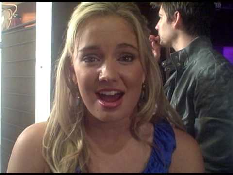 Sonny With A Chance star Tiffany Thornton gives Hollywood Teen'Zine viewers a special shout out!