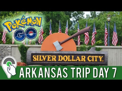 Pokemon GO Daily Adventure at Silver Dollar City in Branson, Missouri! ARKANSAS TRIP FINAL DAY!