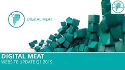 Digital Meat: Website Update Q1 2019