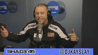 OT the Real Interview with Dj Kayslay at Shade45