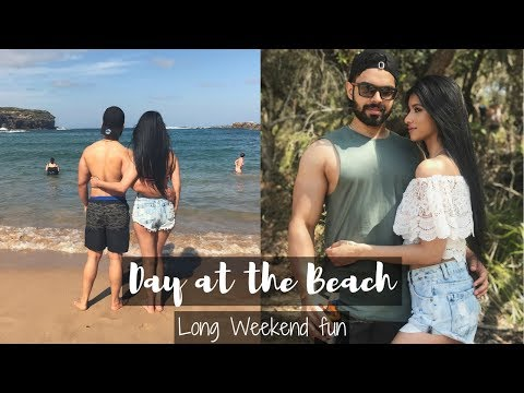 A DAY AT THE BEACH | VLOG | THE LIFE OF B