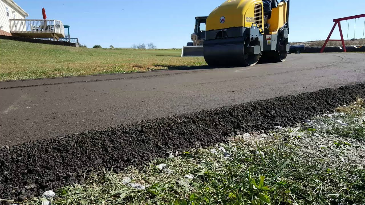 Recycled Asphalt Pavement (Millings) Process video www ...