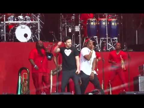 Jay Z & Justin Timberlake - Holy Grail - Live At Wireless