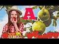 A for Apple - Learn Words that Start with A - ABC Song - ABC Kids - ABC Games -ABC Alphabet Songs