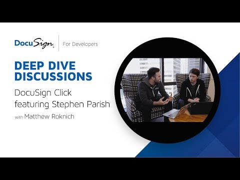DocuSign Developer: DocuSign Click