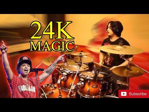 Bruno Mars - 24K Magic (DRUM COVER) Byno