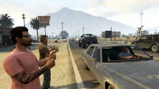 GTAV Movie: Desert trouble