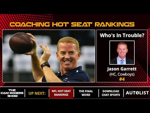 2018 NFL Season Preview - Top 10 Coaches On The Hot Seat