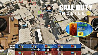 Call of Duty Mobile Highest Kills Gameplay || HARD POINT || Nuclear Bomb