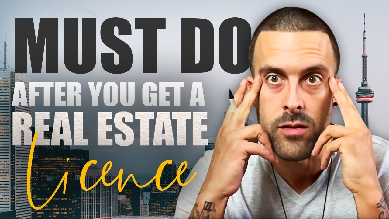 What To Do After You Get Your Real Estate License Youtube