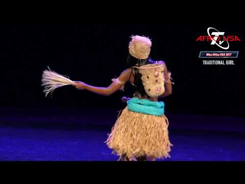 Miss Africa USA 2017 Traditional Showcase with Daphne,  Featurist, Jose Diplome, Fally Ippupa