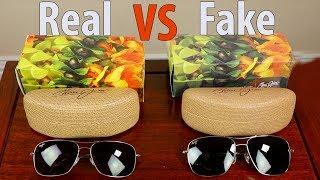 How to Identify Fake Maui Jim Sunglasses