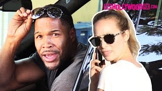 Michael Strahan Goes Off On Paparazzi When Spotted With Kayla Quick 11.14.15