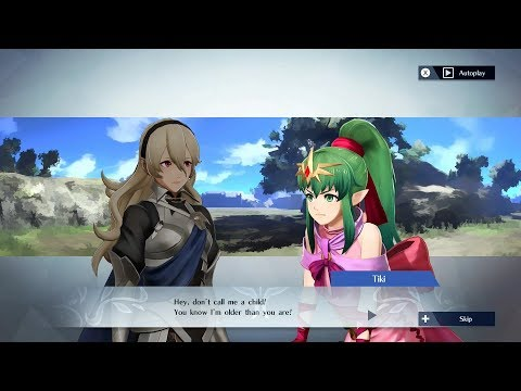 Fire Emblem Warriors  Corrin FM & Tiki Support Conversation