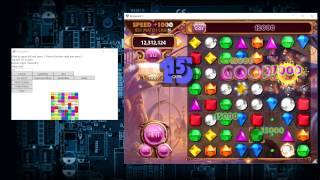 Bejeweled 3 Lightning 13,458,050 points with bot