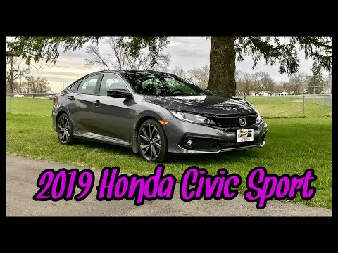 MY HUSBAND SURPRISED ME WITH A BRAND NEW 2019 HONDA CIVIC SPORT | MAY 1 2019
