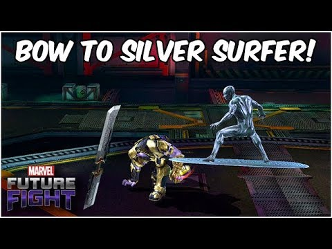 SILVER SURFER DOES EVERYTHING!! WILL HE BECOME #1?? - Marvel Future Fight