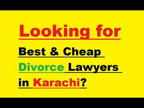 Divorce Lawyers in Karachi - Divorce Attorney in Karachi