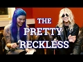 "Capture de la vidéo The Pretty Reckless Interview 2017 - ""drugs, Supernatural & The Beatles"""