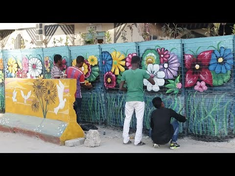 Somali Artists Fight War, Fear with Street Art