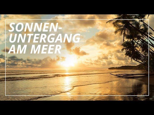 Fantasiereise / Traumreise: Sonnenuntergang am Meer