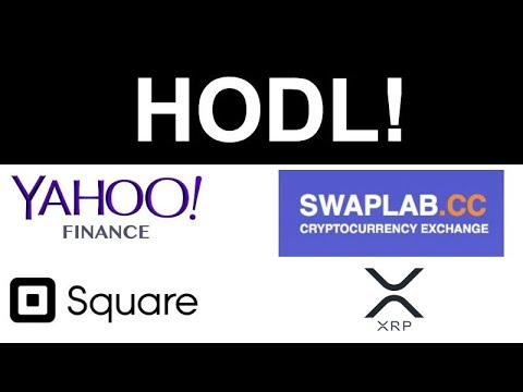 Yahoo Finance Crypto Trading! - Square Patent Crypto Payments - Binance CEO Bull Run - SWAPLAB XRP