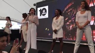 Grace Capristo Live @ 10 Jahre Mercedes-Benz Museum 04.06.2016