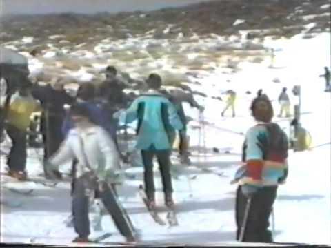 Awakino Ski Field - 1989
