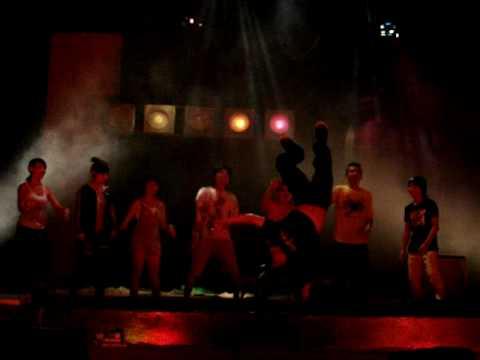 Cực shock Điền Trung - Thy Phương nhảy Hip hop.MPG