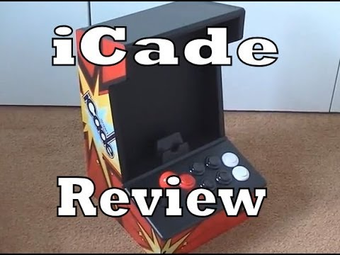 iCade iPad / Tablet Android Arcade Controller Review - YouTube