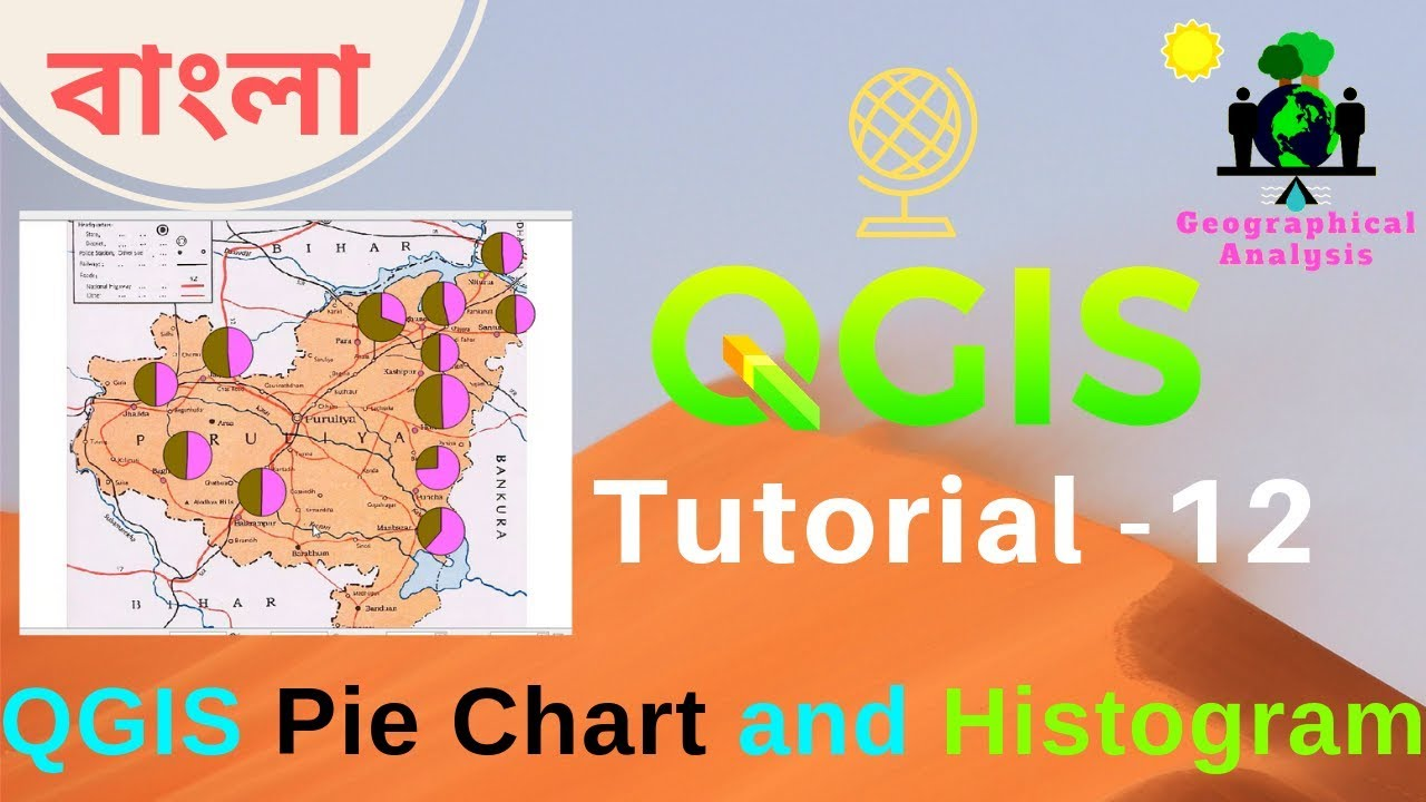 QGIS Pie Chart and Histogram or Bar Graph - Geographical