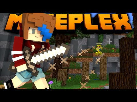 MINECRAFT | LET'S PLAY MINIGAMES on the MINEPLEX | RADIOJH GAMES