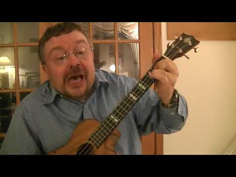 "Willard Losinger Performs ""Missing You"" by Kevin Bloody Wilson, with Baritone Ukulele"