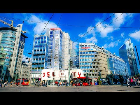 A Walk Around The City Centre, Oslo, Norway