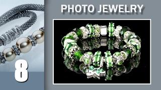 08. Juwelry Photo. Браслет -полная глубина резкости с помощью стекинга