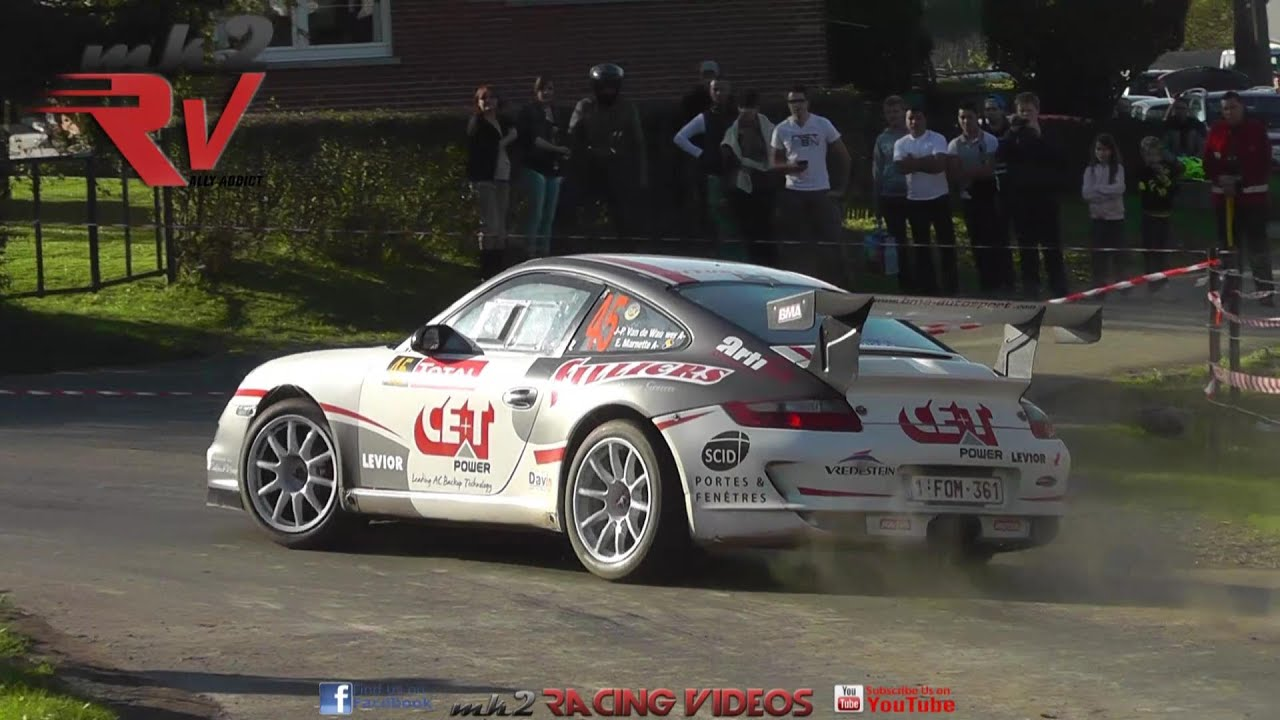 Rallye du condroz huy 2014 porsche 997 gt3 cup youtube for Garage renault furnes belgique