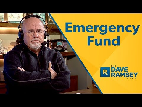 What Your Emergency Fund Is For - Dave Ramsey Rant