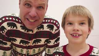 Tannerites! Four Corners in Jammies with That YouTub3 Family! Four Corners Blindfolded!