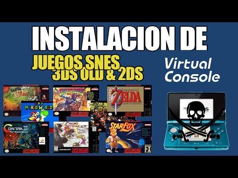 Megapack Juegos snes para old 3ds & 2ds (cia) cosnola virtual