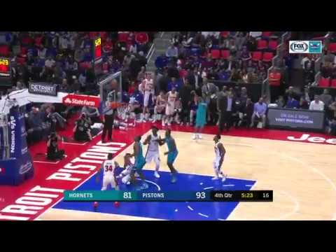 Avery Bradley and Stanley Johnson's defense vs. the Hornets (Oct. 18, 2017)