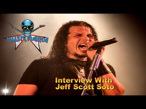 Music Mania Podcast- Jeff Scott Soto Interview (1-26-18)
