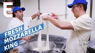 The King of Handmade Mozzarella is in the Bronx — Dining on a Dime