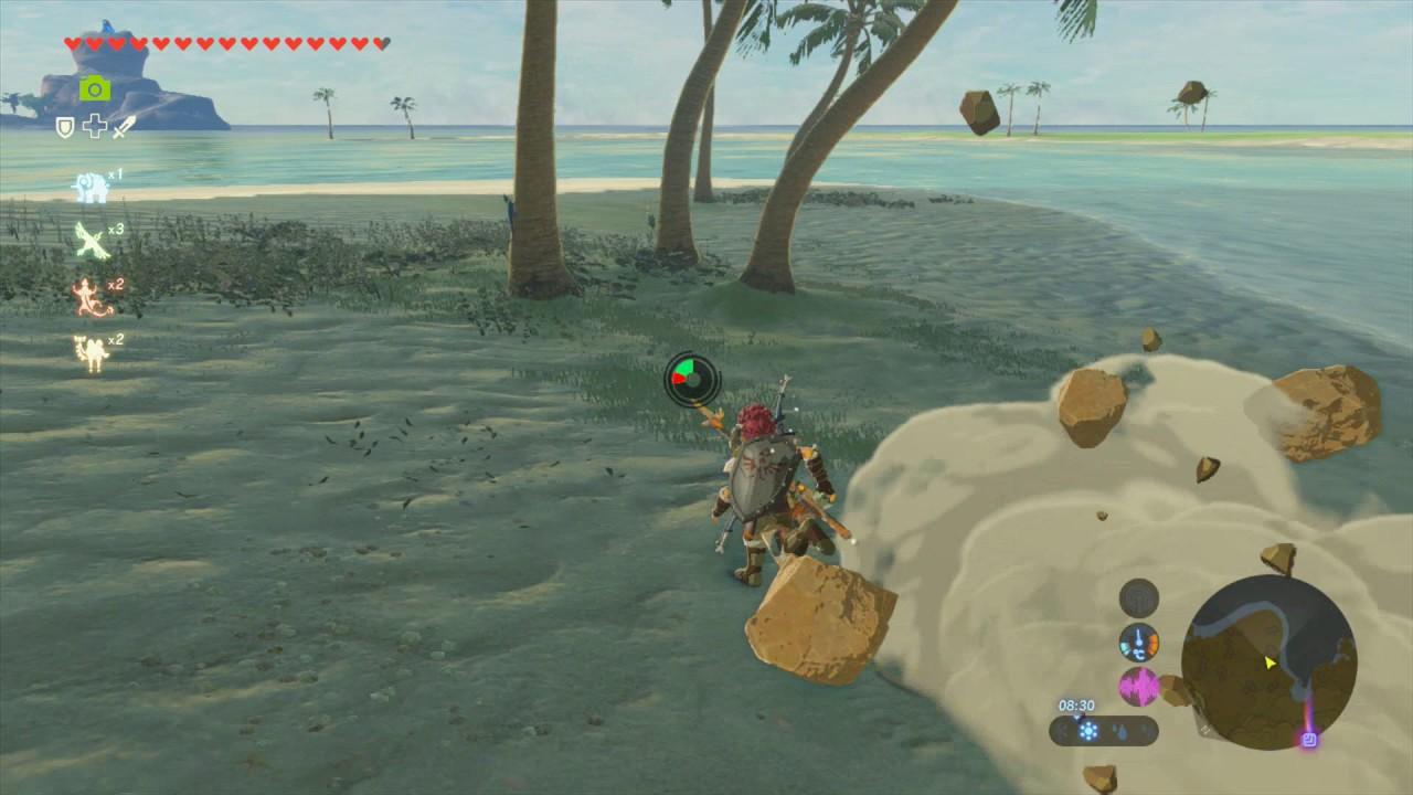 Astuce Zelda Breath of the Wild : Travaux de restauration