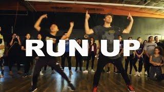 'RUN UP' - Major Lazer ft Nicki Minaj Dance | @MattSteffanina Choreography