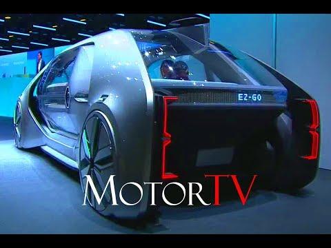 2018 GENEVA MOTOR SHOW l RENAULT EZ-GO CONCEPT WORLD PREMIERE l Press Conference