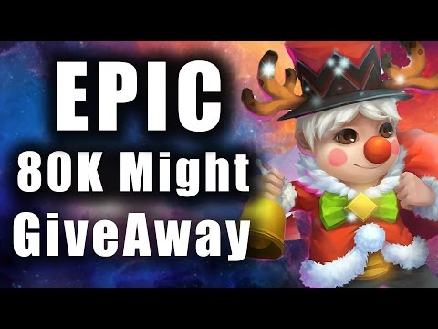 Castle Clash - 80K Might Account Giveaway ☆Huge Giveaway☆