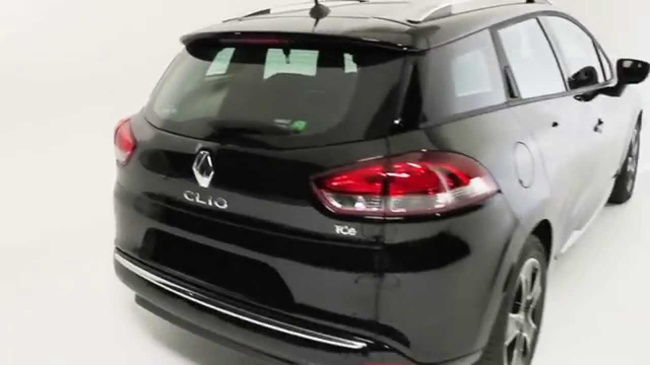 private lease renault clio estate zwart youtube. Black Bedroom Furniture Sets. Home Design Ideas